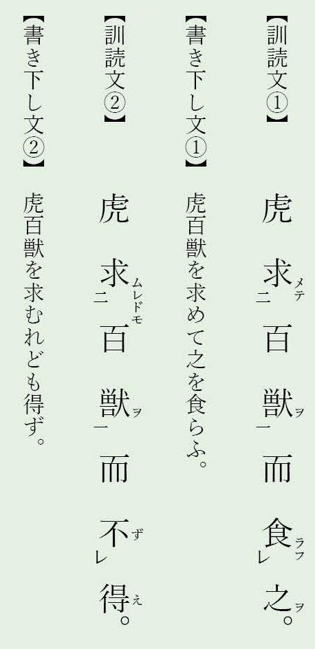 漢文置き字「而」例文4