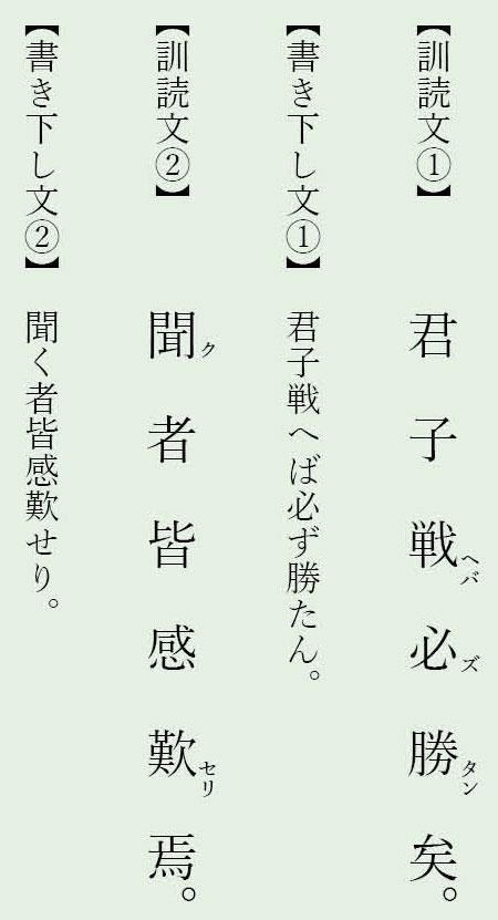 漢文置き字「焉」「矣」例文5
