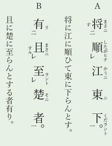 再読文字例文6「将・且」