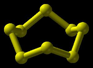 斜方硫黄S8