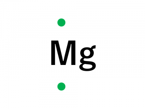 電子式(12マグネシウム)