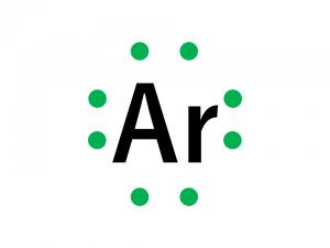 電子式(18アルゴン)